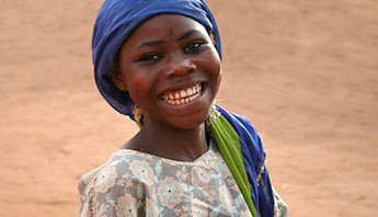 Ghanaian girl