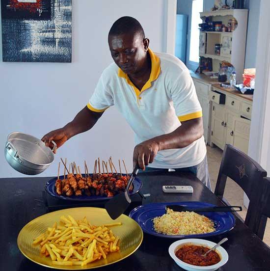 Vincent, a local cook